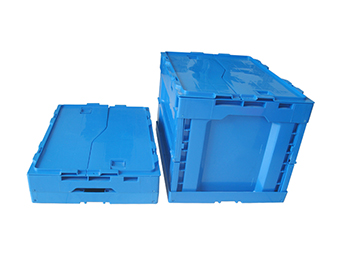 Gentil Wholesale Collapsible Storage Crate,plastic Collapsible Crate
